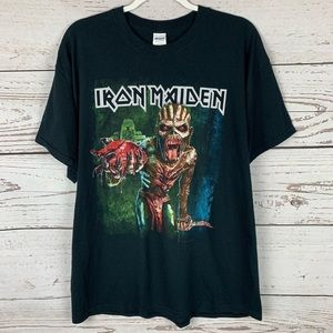 Iron Maiden The Book of Souls 2016 Tour Tee